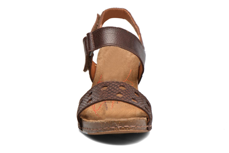 Sandales et nu-pieds Art I Feel 228 Marron vue portées chaussures