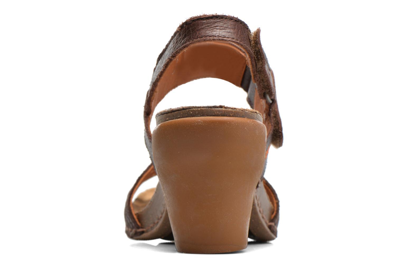 Sandales et nu-pieds Art I Feel 228 Marron vue droite
