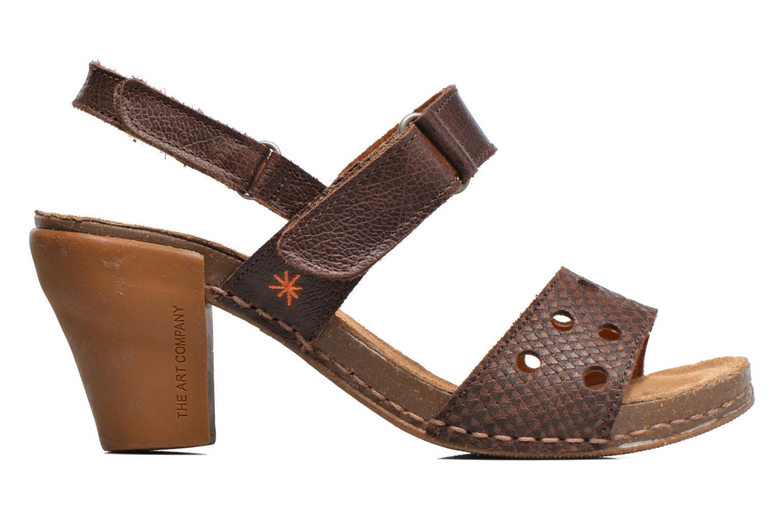 Sandales et nu-pieds Art I Feel 228 Marron vue derrière