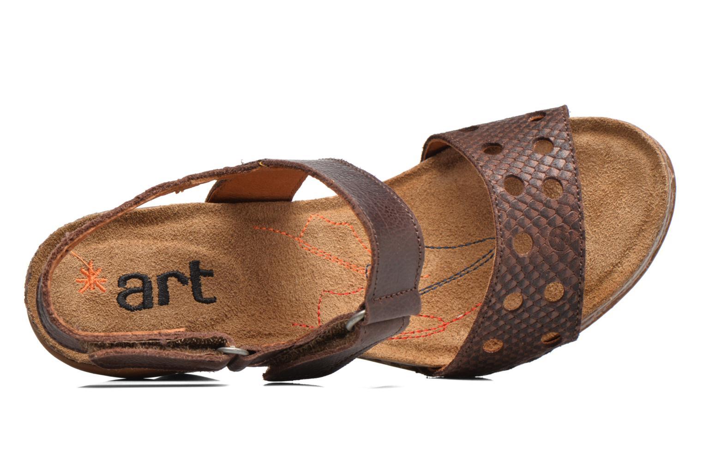 Sandales et nu-pieds Art I Feel 228 Marron vue gauche