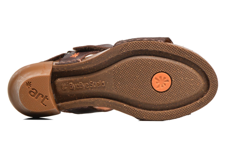 Sandales et nu-pieds Art I Feel 228 Marron vue haut