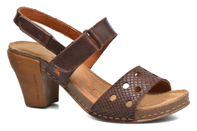 Sandales et nu-pieds Art I Feel 228 Marron vue détail/paire