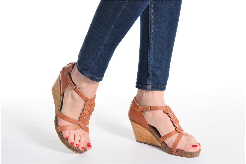 Sandales et nu-pieds Art Valby 438 Beige vue bas / vue portée sac