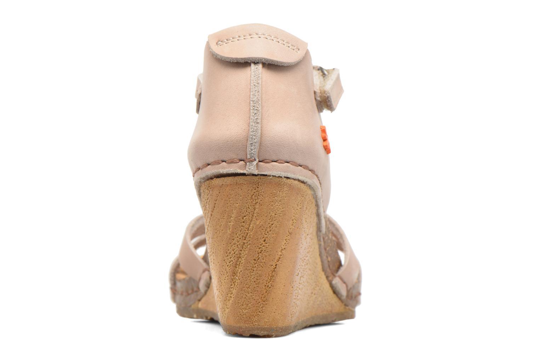 Sandales et nu-pieds Art Valby 438 Beige vue droite