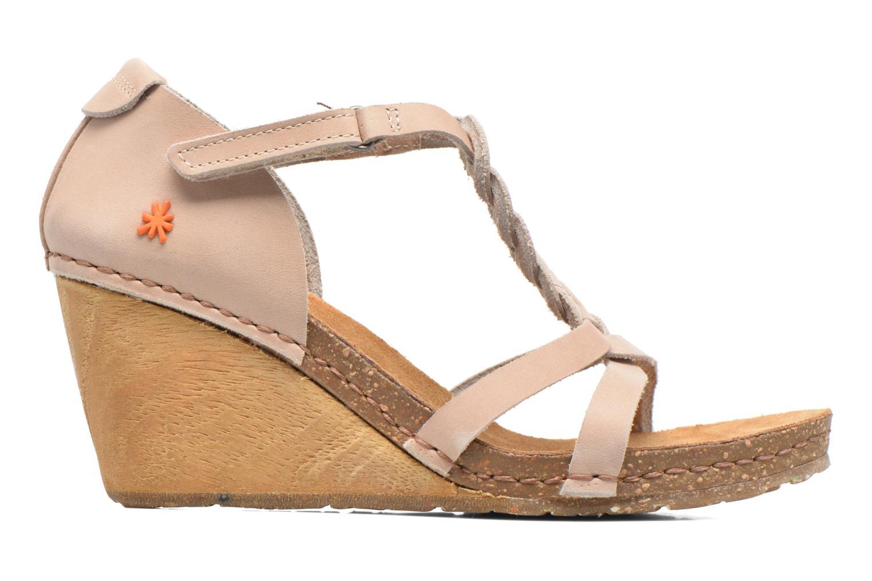 Sandales et nu-pieds Art Valby 438 Beige vue derrière