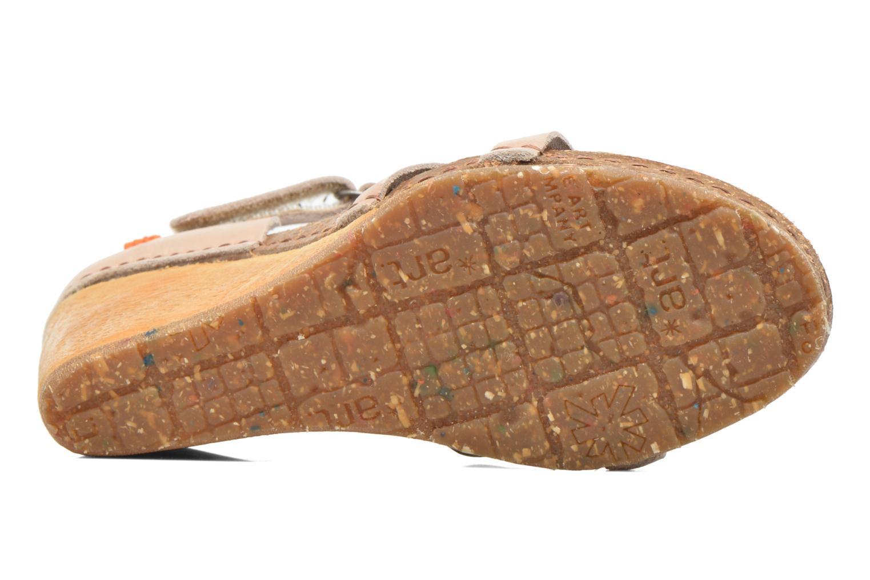 Sandales et nu-pieds Art Valby 438 Beige vue haut
