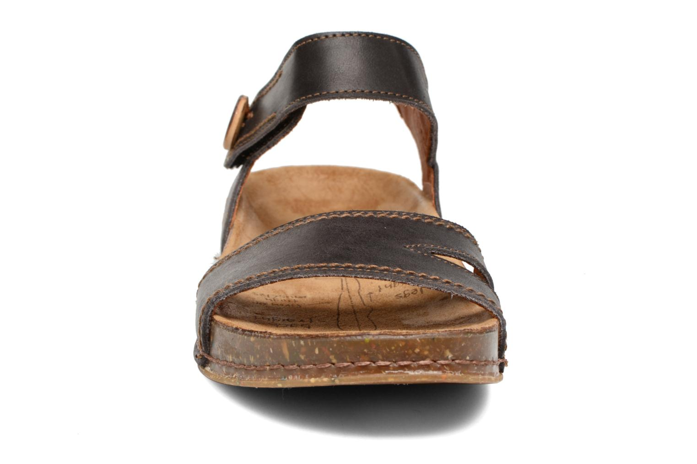 Sandales et nu-pieds Art We Walk 866 Noir vue portées chaussures