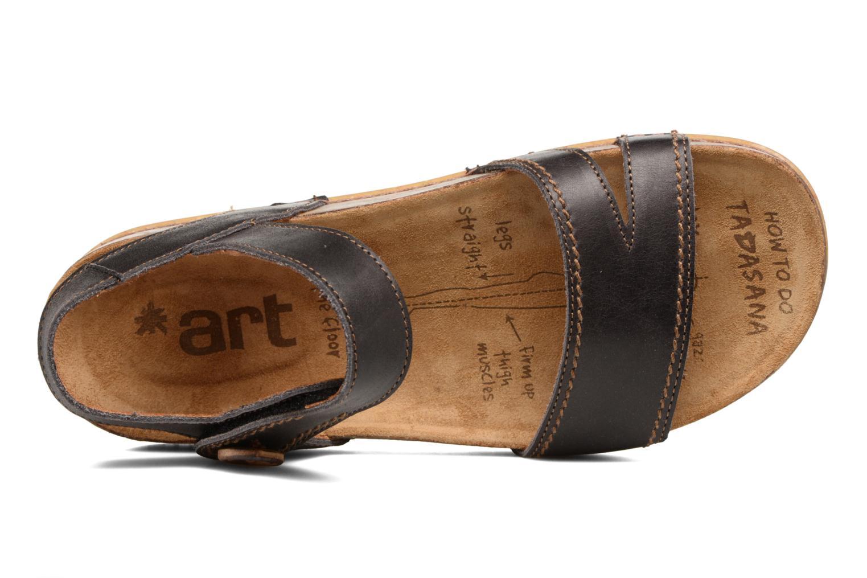 Sandales et nu-pieds Art We Walk 866 Noir vue gauche