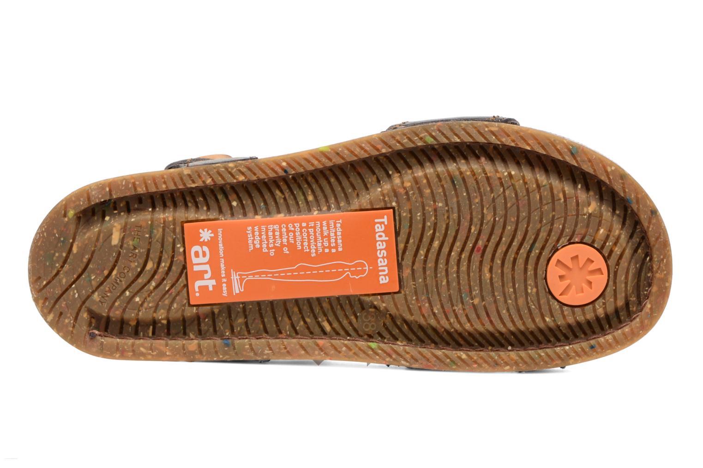 Sandales et nu-pieds Art We Walk 866 Noir vue haut