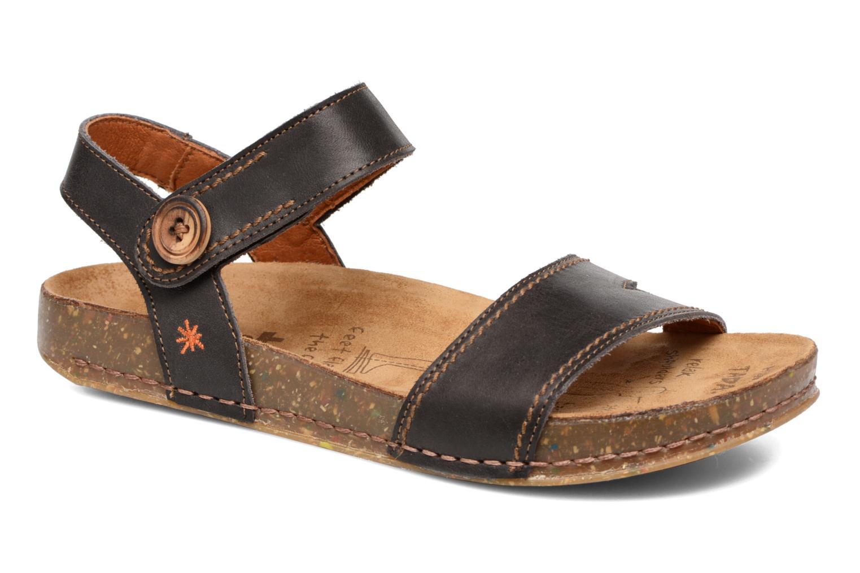 Sandales et nu-pieds Art We Walk 866 Noir vue détail/paire