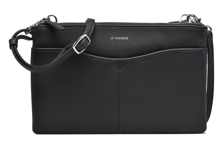 Sacs à main Le Tanneur Pochette double zippée Valentine Noir vue détail/paire