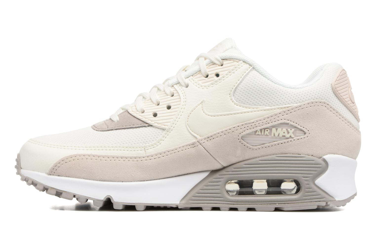 Sneakers Nike Wmns Air Max 90 Beige se forfra