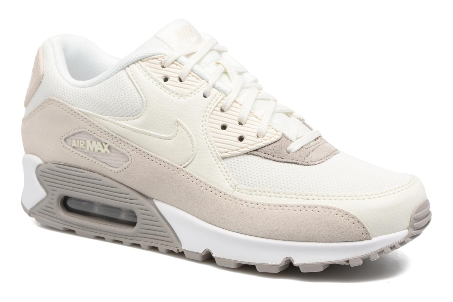 Trainers Nike Wmns Air Max 90 Beige detailed view/ Pair view