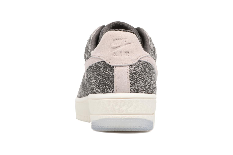 Baskets Nike W Af1 Flyknit Low Gris vue droite