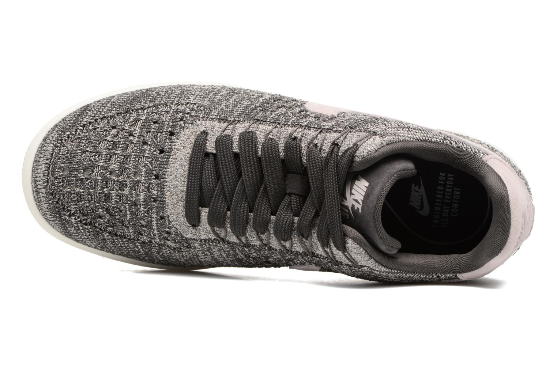Baskets Nike W Af1 Flyknit Low Gris vue gauche