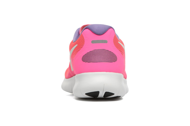 Scarpe sportive Nike Wmns Nike Free Rn 2017 Rosa immagine destra