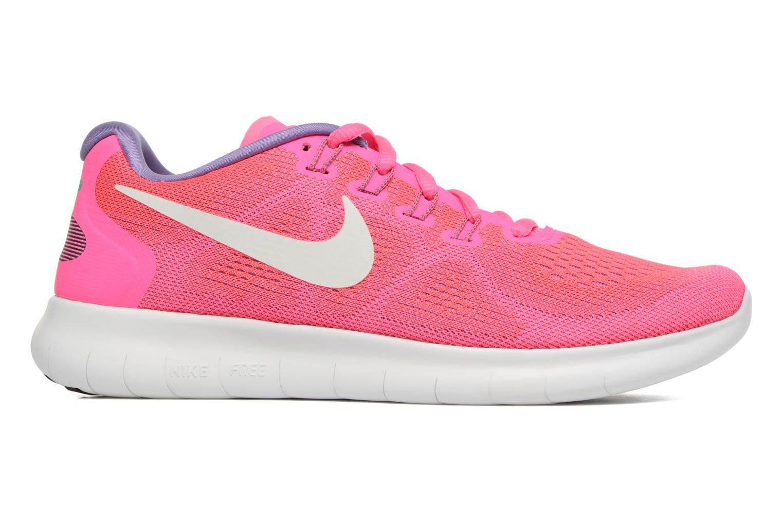 Chaussures de sport Nike Wmns Nike Free Rn 2017 Rose vue derrière