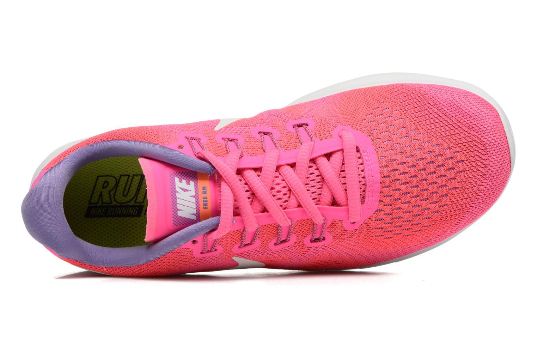 Scarpe sportive Nike Wmns Nike Free Rn 2017 Rosa immagine sinistra