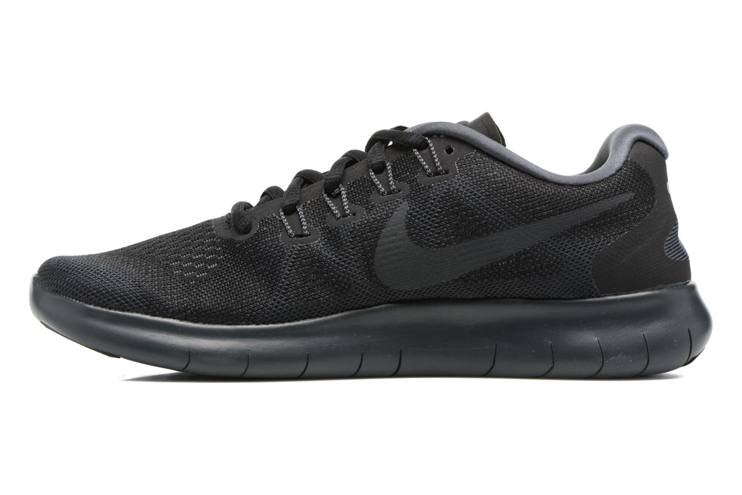 Wmns Nike Free Rn 2017 Black/Anthracite-Dark Grey-Cool Grey