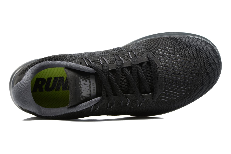 Sportskor Nike Wmns Nike Free Rn 2017 Grå bild från vänster sidan