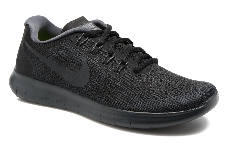 Chaussures de sport Nike Wmns Nike Free Rn 2017 Gris vue détail/paire