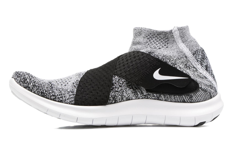 Sportschoenen Nike W Nike Free Rn Motion Fk 2017 Zwart voorkant