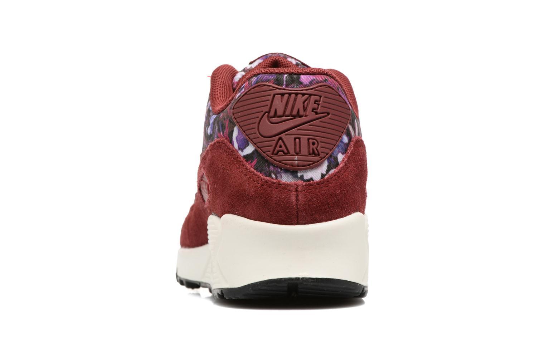 Baskets Nike Wmns Air Max 90 Se Bordeaux vue droite