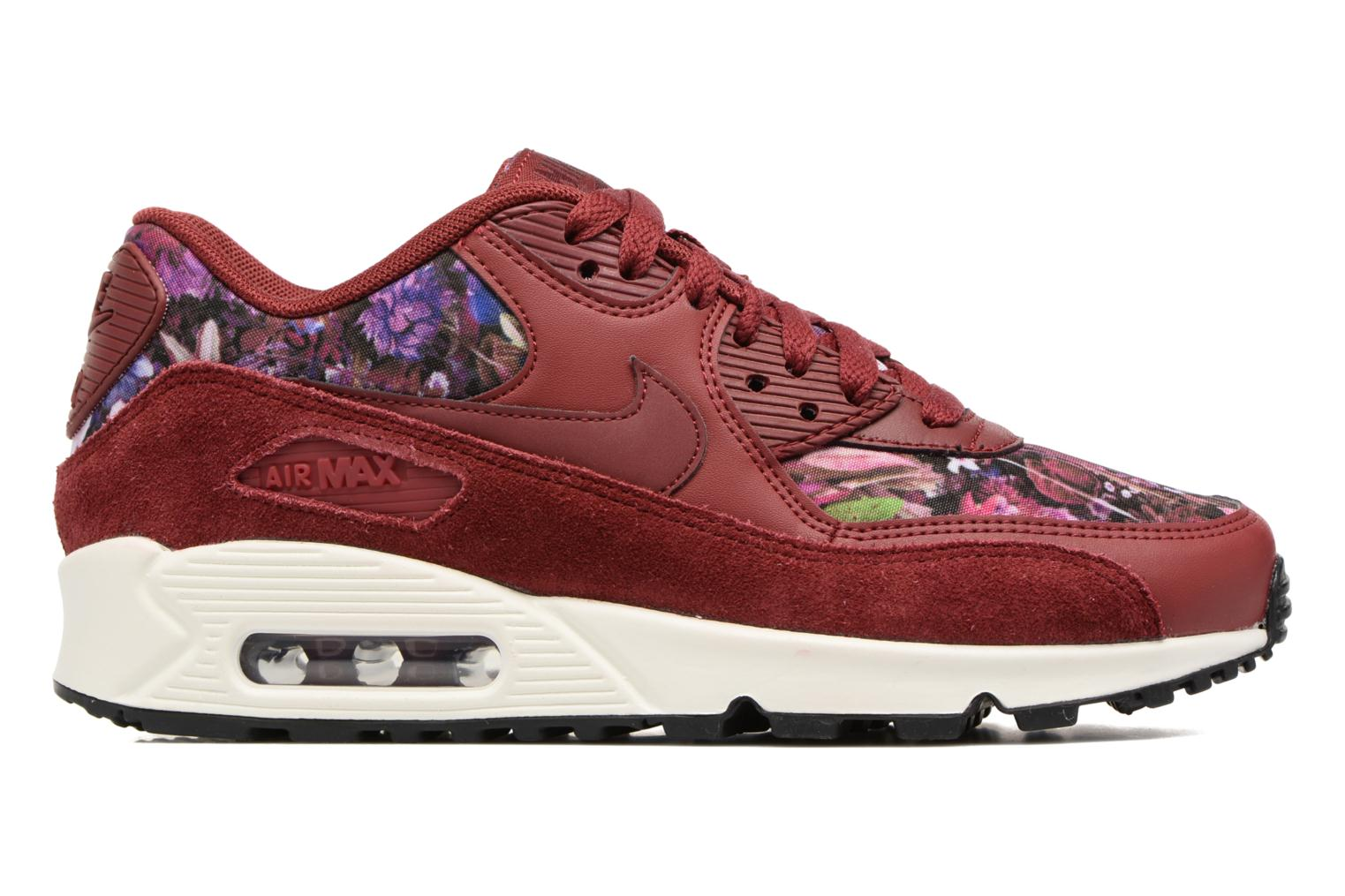 Gym Red/Gym Red-White-Gum Light Brown Nike Wmns Air Max 90 Se (Rouge)