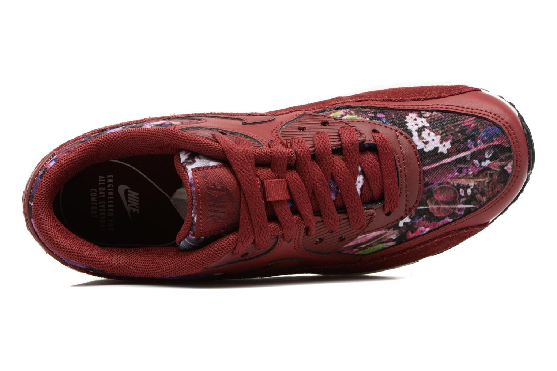 Baskets Nike Wmns Air Max 90 Se Bordeaux vue gauche