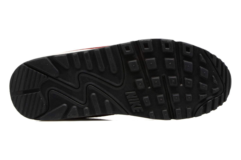 Baskets Nike Wmns Air Max 90 Se Bordeaux vue haut