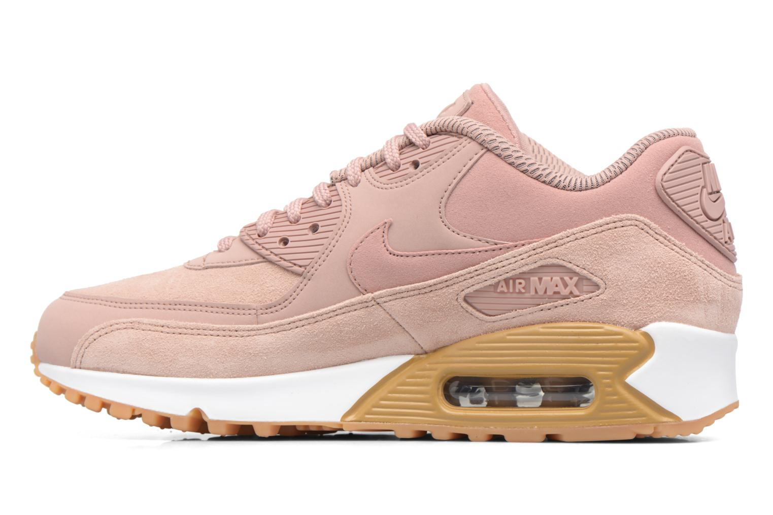 Baskets Nike Wmns Air Max 90 Se Rose vue face