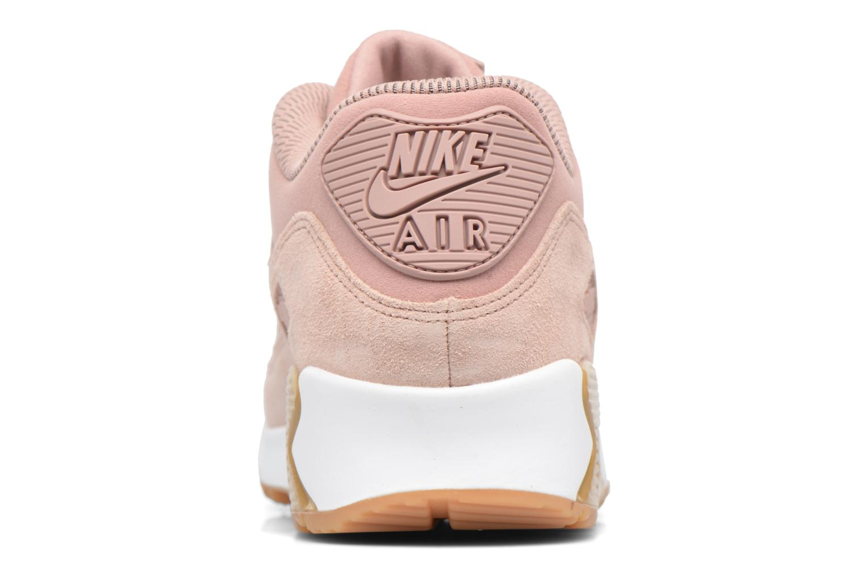 Baskets Nike Wmns Air Max 90 Se Rose vue droite