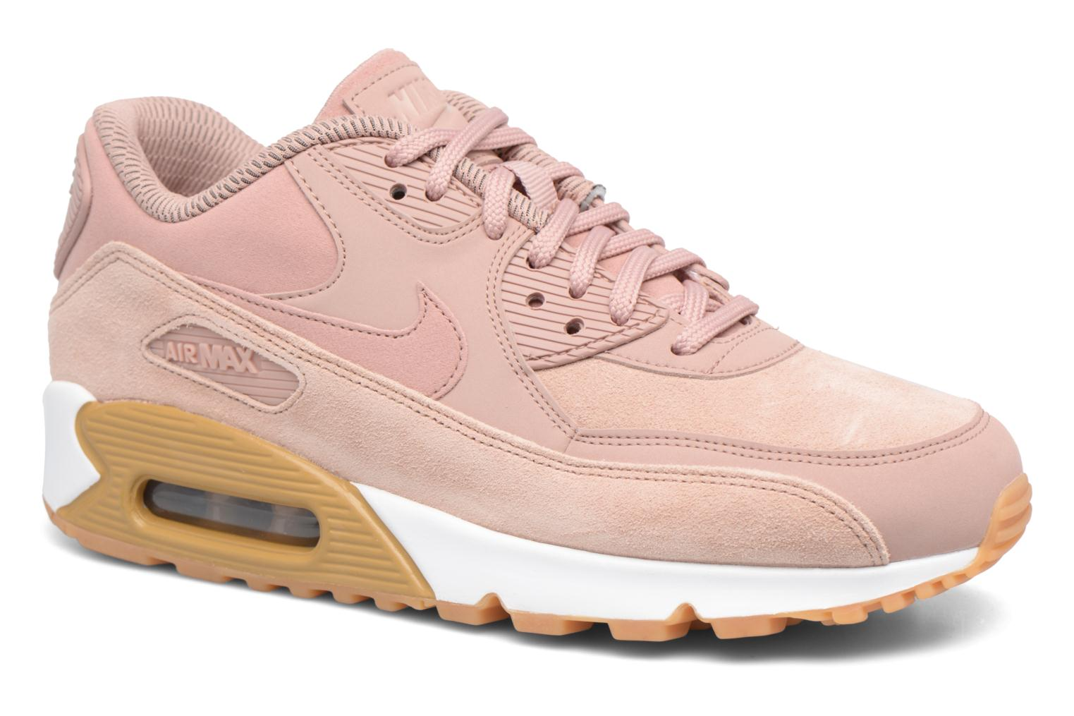 Trainers Nike Wmns Air Max 90 Se Pink detailed view/ Pair view