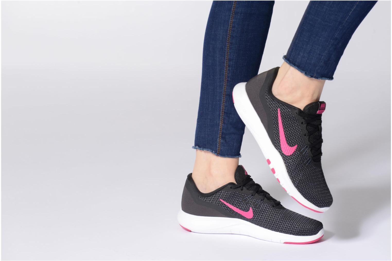 Sportskor Nike W Nike Flex Trainer 7 Rosa bild från under