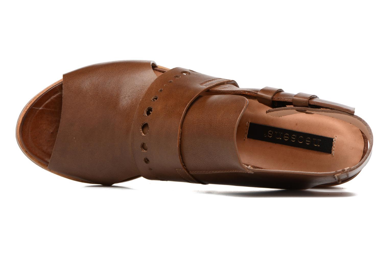 Sandalen Neosens Callet S149 braun ansicht von links