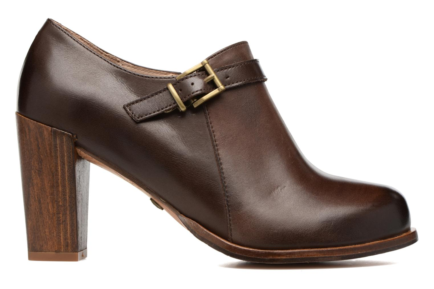 Ankle boots Neosens Gloria S178 Brown back view