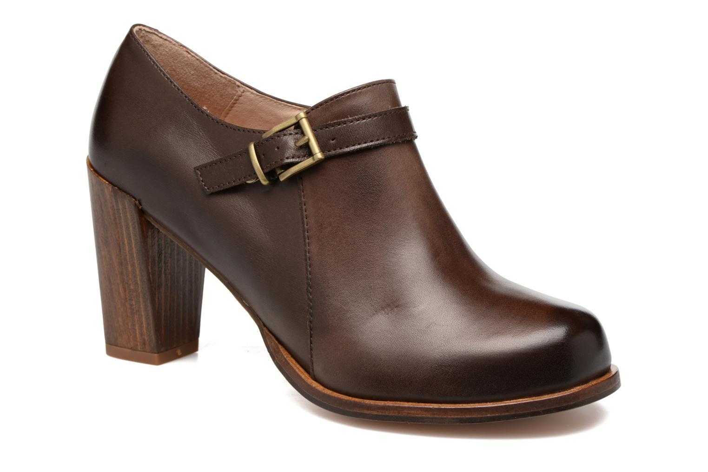 Boots en enkellaarsjes Neosens Gloria S178 Bruin detail