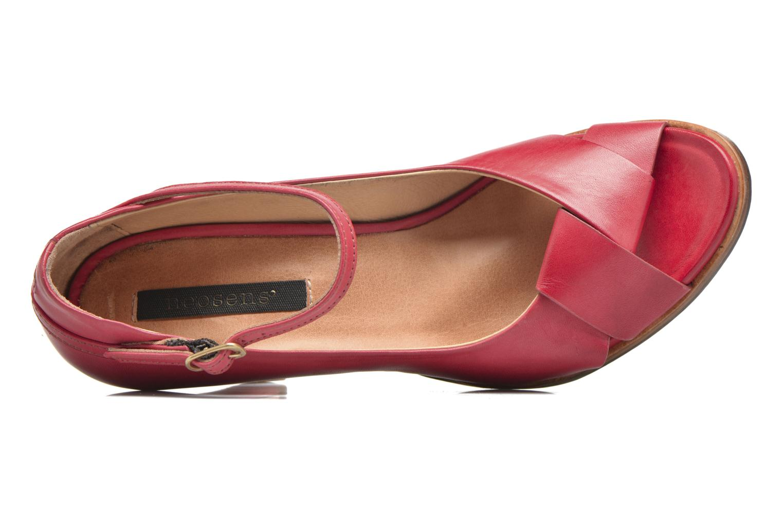Escarpins Neosens Altesse S467 Rouge vue gauche