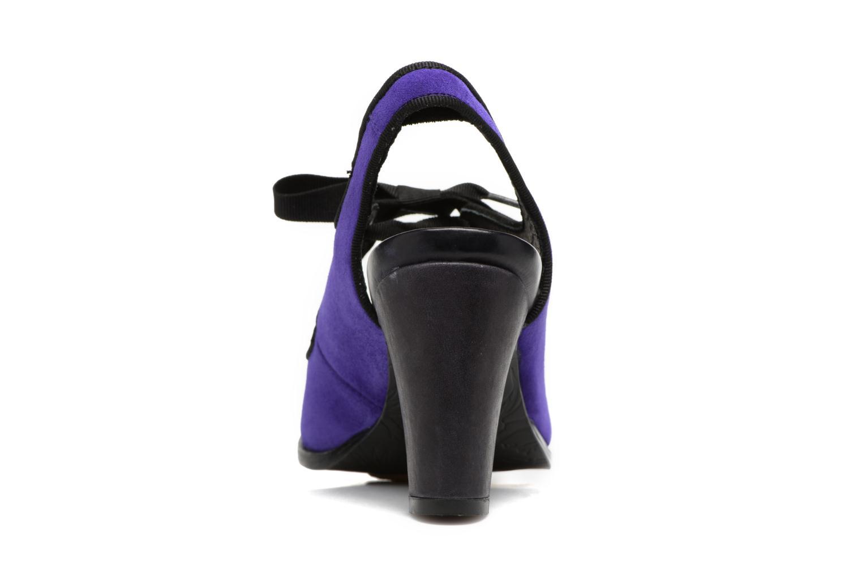 Zapatos de tacón Neosens Altesse S468 Violeta      vista lateral derecha