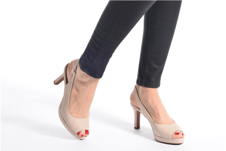 Sandali e scarpe aperte Clarks Mayra Blossom Nero immagine dal basso
