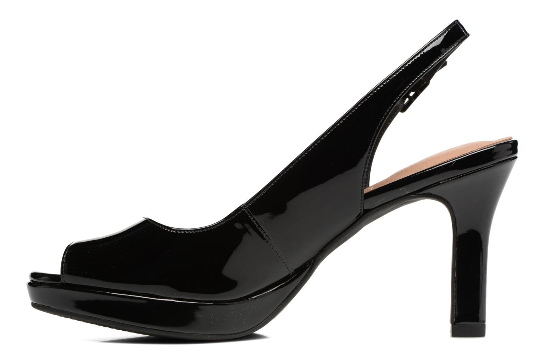 Sandali e scarpe aperte Clarks Mayra Blossom Nero immagine frontale