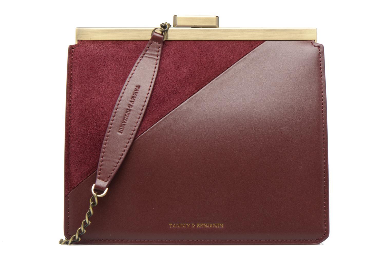 Handtaschen Tammy & Benjamin Crossbody Jeanne weinrot detaillierte ansicht/modell