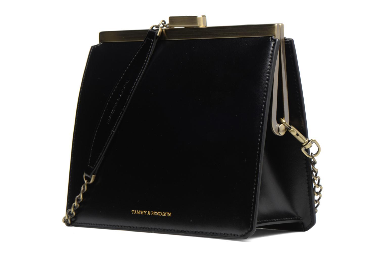 Handtaschen Tammy & Benjamin Crossbody Jeanne schwarz schuhe getragen