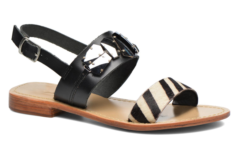 Los Los Los últimos zapatos de hombre y mujer Elizabeth Stuart Havane 887 (Negro) - Sandalias en Más cómodo 0855d3