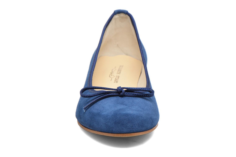Ballerines Elizabeth Stuart Josy 300 Bleu vue portées chaussures