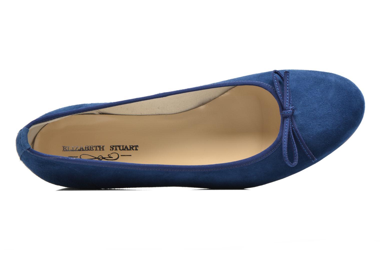 Ballerines Elizabeth Stuart Josy 300 Bleu vue gauche