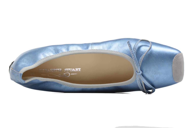 Bailarinas Elizabeth Stuart Lacq 391 Azul vista lateral izquierda
