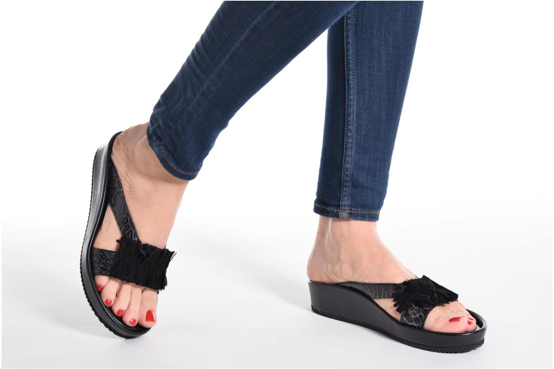 Sandales et nu-pieds Elizabeth Stuart Pull 938 Noir vue bas / vue portée sac