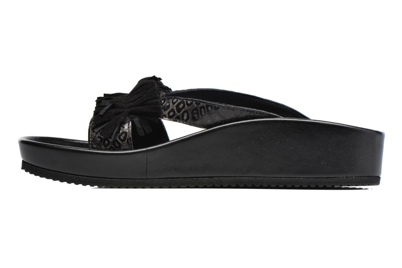 Sandales et nu-pieds Elizabeth Stuart Pull 938 Noir vue face
