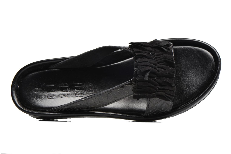Sandales et nu-pieds Elizabeth Stuart Pull 938 Noir vue gauche